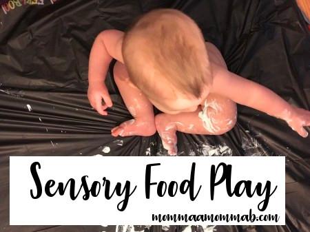 sensory food play