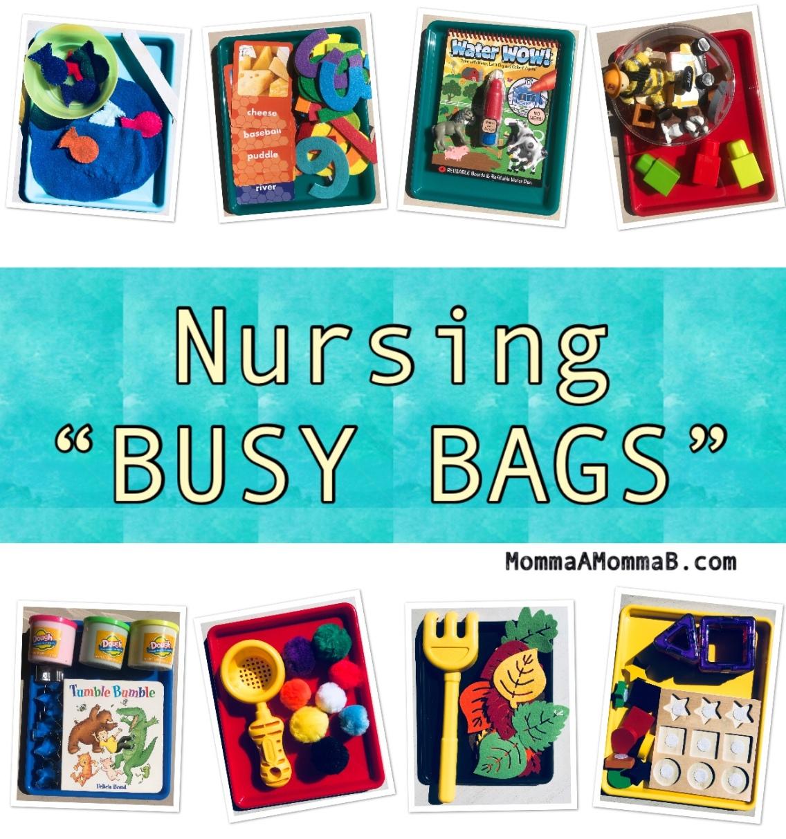 nursing busy bags